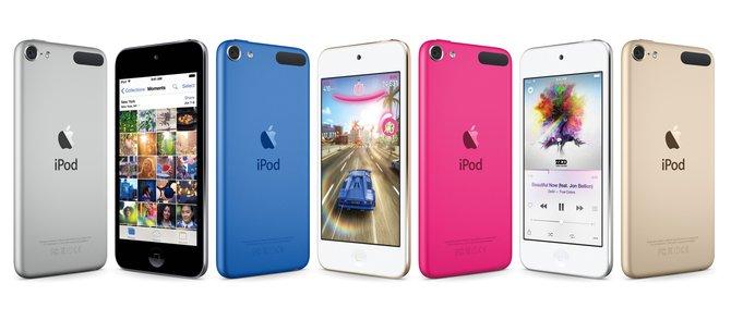 Der neue iPod Touch der sechsten Generation ist äußerlich dem Vorgänger ähnlich. Doch unter der Haube arbeitet die Technik des iPhone 6.