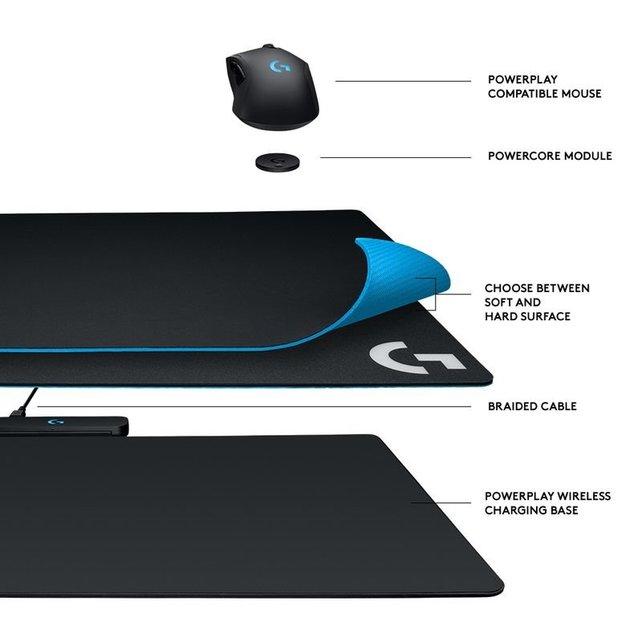 Logitech G Powerplay: Neues Mauspad mit induktiver Ladefähigkeit vorgestellt