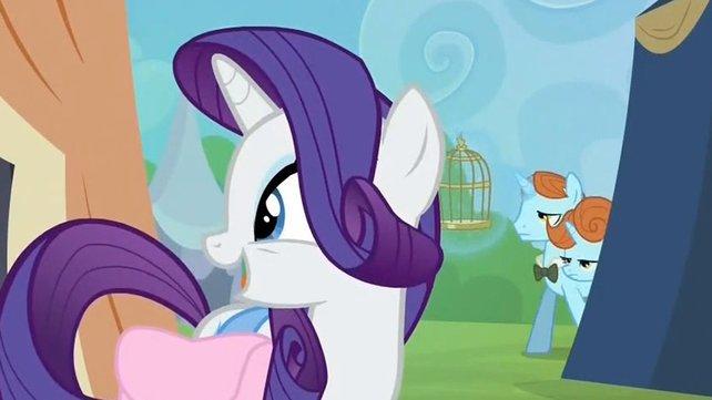 Standesgemäßer Gastauftritt: Die beiden Lutece-Zwillinge aus Bioshock Infinite existieren auch als Ponies.