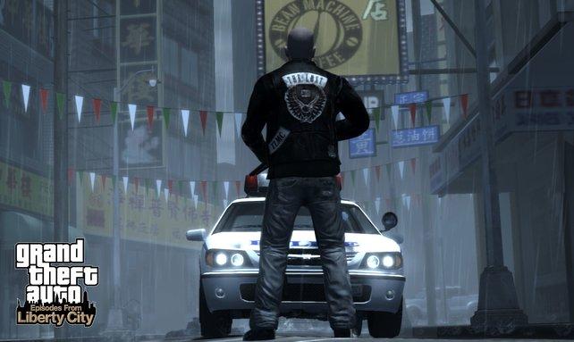 Motorrad-Rocker Johnny Klebitz hat keine Angst vor der Polizei.