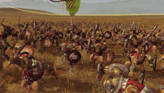 Diese Orks freuen sich auf den Kampf