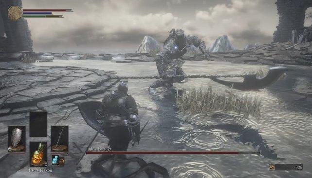 Iudex Gundyr ist der erste Boss in Dark Souls 3 und taucht schon nach wenigen Spielminuten auf.