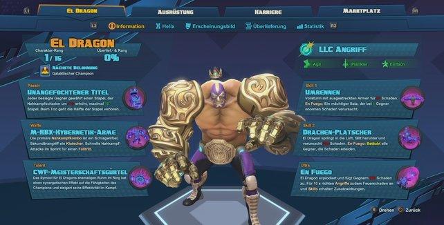 Helden vom Last Light Consortium: El Dragón