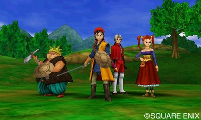 Hier seht ihr die Abenteuergruppe vereint.