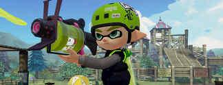Previews: Splatoon: Nintendo wagt f�r Wii U ein neues Konzept ohne Mario