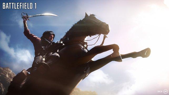 Pferde: Auch das gibt es jetzt in Battlefield.