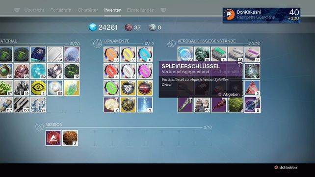 Destiny - Rise of Iron: So könnt ihr Spleißerschlüssel und Spleißer-Überwachungsrelais farmen.