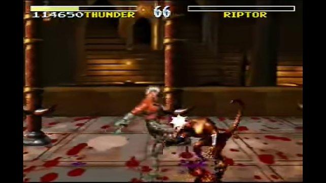 Die blutige SNES-Prügelei Killer Instinct war bis zuletzt nichts für jugendliche Zocker.