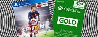 Deals: Schnäppchen des Tages: Fifa 16 und Xbox Live im Angebot