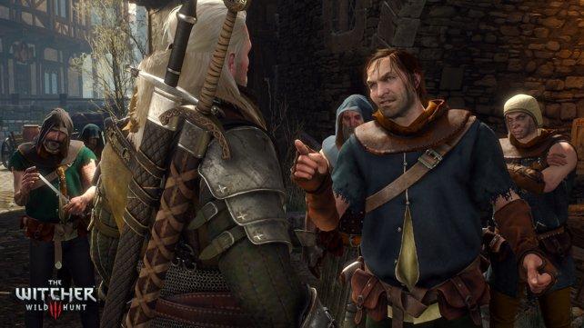 Gegner machen mehrfach den Fehler, in Geralt leichte Beute zu sehen.