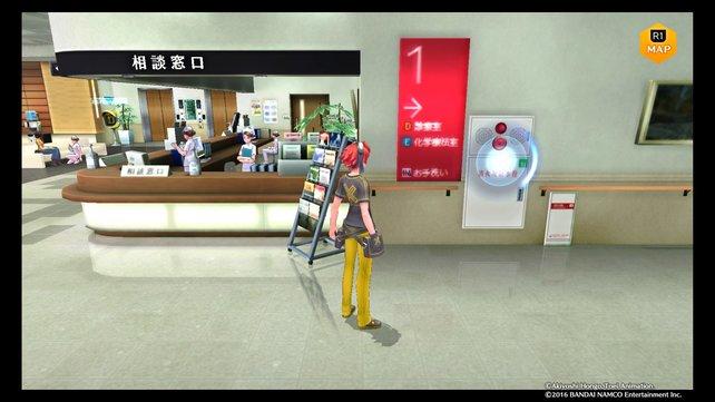 Im Central Hospital gibt es eine Stelle für einen Connect-Jump.