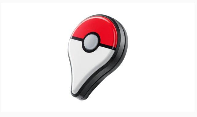 Das Pokémon Go Plus-Gerät als Anstecker