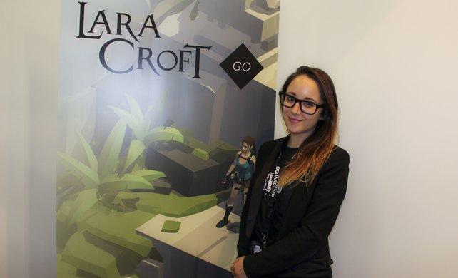 Entwicklerin Geneviève St-Onge ist überzeugt, dass mobile Spiele begeistern können.
