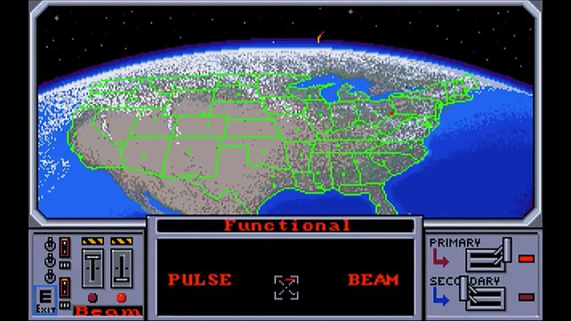 Schützt Amerika mit SDI-Waffen vor anfliegenden Atomraketen!