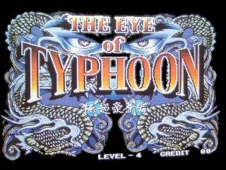 Eye of Typhoon