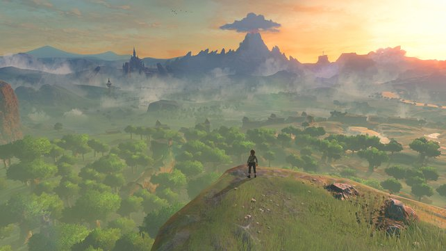 Wow! Diese malerische Aussicht zeigt nur einen Bruchteil der Spielwelt.