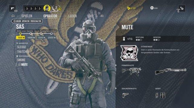 Operator Mute