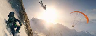 Tests: Steep: Wintersport-Spektakel mit Stärken und Schwächen