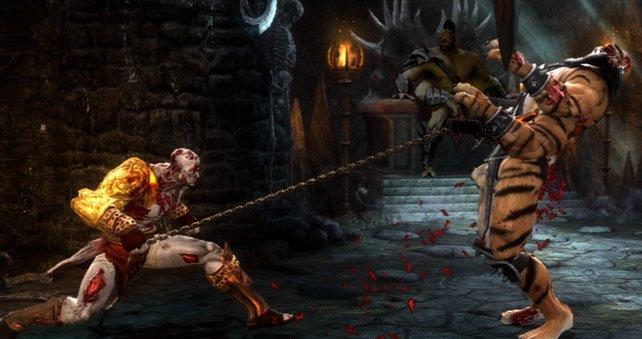 Mit Kratos ist nie gut Kirschen essen.