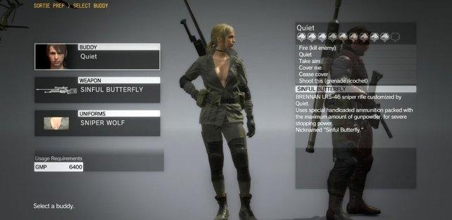 """Sniper Wolf sollte den """"Metal Gear""""-Veteranan unter euch ein Begriff sein."""