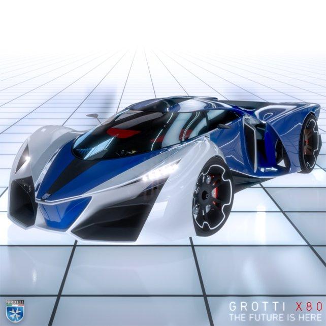 Der X80 ist ein wahrer Supersportwagen.