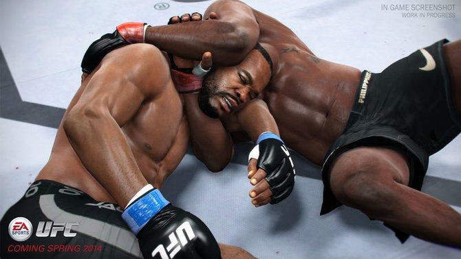 Der Bodenkampf entscheidet bei UFC häufig über den Sieg.