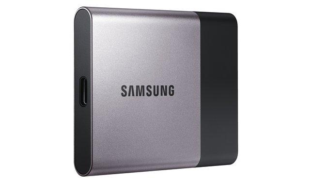 Zweiter Teil des Gewinns: Portable SSD T3.