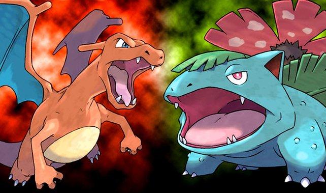Pokémon Feuerrot und Blattgrün: Glurak oder Bisaflor - für wen entscheidet ihr euch?