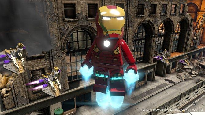 Gemütlich rumschweben während die Welt angegriffen wird, so ist unser Iron Man.