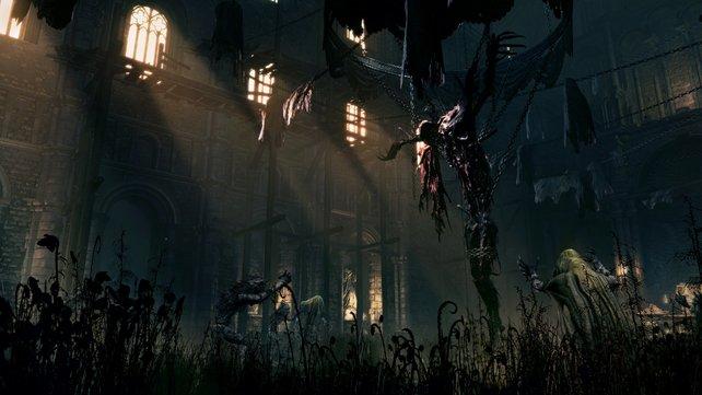 In der Welt von Bloodborne entsehen die Bestien aus normalen Menschen.