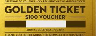 Für ausgewählte Glückspilze: Sony verschenkt goldene Tickets