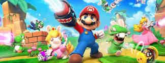 Mario + Rabbids Kingdom Battle: Leaks bringen Bilder und Details zum bizarren Nintendo-Ubisoft-Crossover