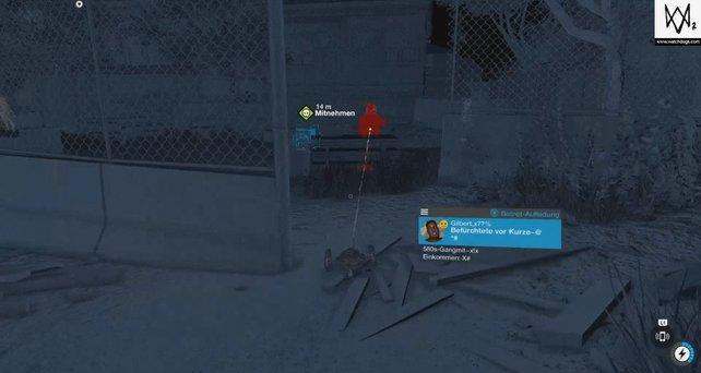 Tipps und Tricks zu Watch Dogs 2: Der Jumper kann Feinde unbemerkt infiltrieren.