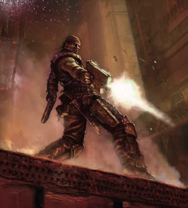 In Necromunda - Underhive Wars dreht sich alles um knallharte Gang-Kriege in einer dystopischen Welt.