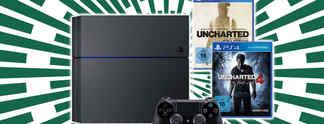 """Schnäppchen des Tages: """"1 TB""""-PS4 mit allen Uncharted-Spielen für nur 399 Euro"""