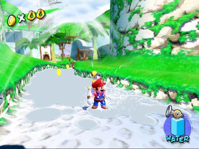 Mario verspätet sich diesmal um ein sattes Jahr. Und Super Mario Sunshine ist bis heute das am meisten verkannte Klempnerspiel. Falls ihr es nicht kennt: Glaubt den Unkenrufen nicht und gönnt euch eines der besten Mario-Abenteuer überhaupt!