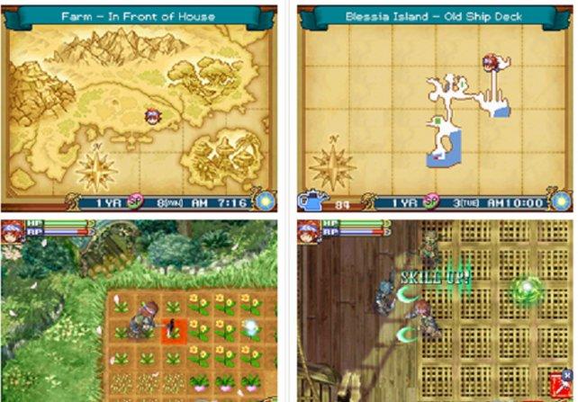 Rune Factory 2 erscheint 2008 mit gewaltigem Brimborium. Von Mangas bis Musikalben scharen die Entwickler fleißig vermeintliche Verkaufshelfer um die ausufernde Geschichte von Vater und Sohn und einem Drachen mit verdammt mieser Laune.