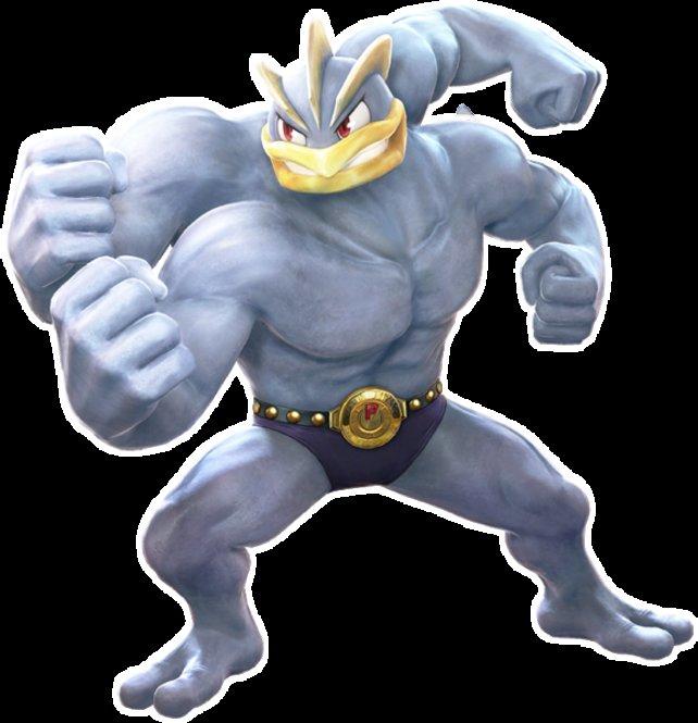 Das vierarmige Machomei ist nicht umsonst bei Pokémon Tekken dabei.