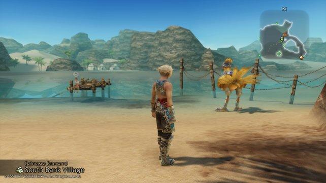 Gelbes Federvieh darf bei Final Fantasy nicht fehlen.