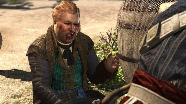 Stede Bonnet, wie ihr ihn aus Black Flag kennt.