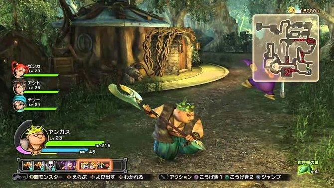 Auch in Dragon Quest - Heroes spielt Yangus seine schlagkräftige Rolle.