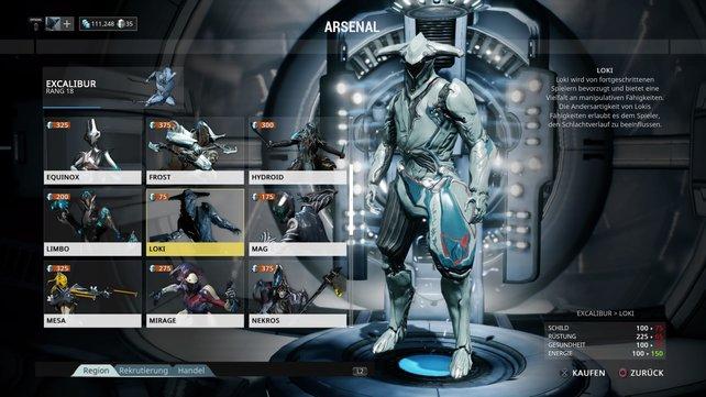 Warframe: Loki