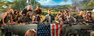 Far Cry 5: Gezähmte Wildnis, verrückte Sekten, treue Vierbeiner