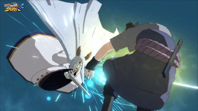 """Im Spiel trefft ihr auf Kaguya Otsutsuki, die """"Mutter alles Bösen"""". So böse wirkt sie hier aber gar nicht aus."""