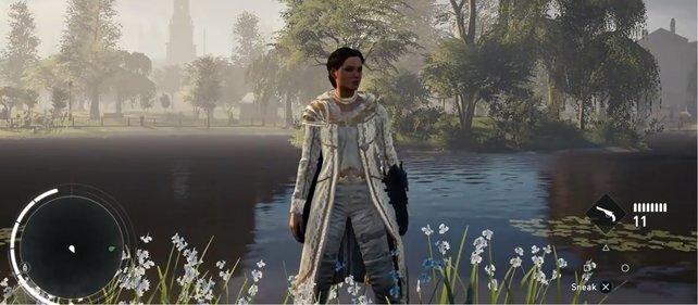 Das Aegis-Outfit steht Evie ganz gut.