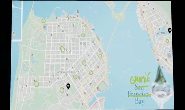 Die Karte zeigt euch die Fundorte aller Gnome.