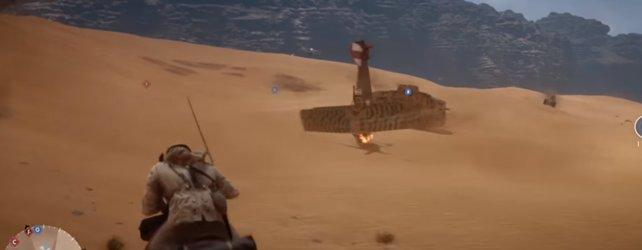 Es gibt einige Fehler in der Beta und Glitches, wie zum Beispiel Flieger die in der Wüste einen Kopftstand machen. Oder Battlefield 1 startet nicht und der Bildschirm bleibt schwarz.