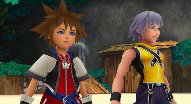 Sora und Riku starten gemeinsam in ein neues Abenteuer.