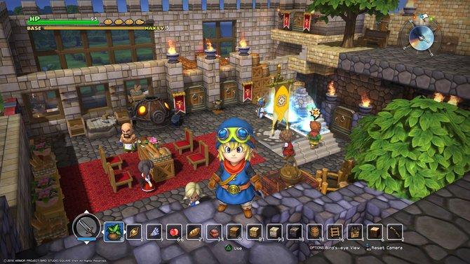 In Dragon Quest - Builders seid ihr mit der Gabe des Erbauens gesegnet und baut das zerstörte Land Alefgard wieder auf.