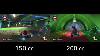 200cc vs 150cc - Piranha Plant Pipeway